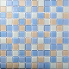 TST Crystal Glass Tiles Colorful Mosaic Glass Tile Kitchen Bath Backsplash Mosaic Art