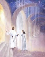"""Job """"My intercessor is my friend as my eyes pour out tears to God; on behalf of a man he pleads with God as one pleads for a friend. Jesus Our Savior, Jesus Art, Jesus Is Lord, Lds Art, Bible Art, Braut Christi, Heaven Art, Angel Artwork, Pictures Of Christ"""
