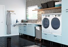 7 Home Interior That Has A Minimalist Laundry Room Home Decorating The concept of having a Home Interior That Has A Minimalist Laundry Room in the house is to save a lot of money on the laundry. In the past, people ha. White Laundry Rooms, Laundry Room Bathroom, Bathrooms, Laundry Room Pictures, Room Wanted, Modern Kitchen Design, Decorating Your Home, Living Room Designs, Building A House