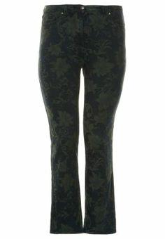 Jeans Straight Leg - grøn
