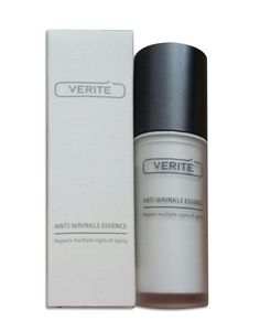 Verite Anti Wrinkle Essence Repairs Multiple Signs Of Aging Anti Aging Anti Wrinkle, Anti Aging, Perfume Bottles, Signs, Shop Signs, Sign, Dishes