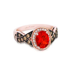 We love this yummy Strawberry Diamond from LeVian