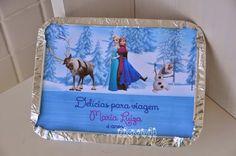 Marmitinha para docinhos, festa Frozen