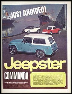 The old Jeepster!