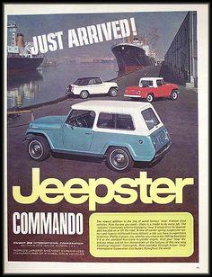 Jeepster Commando Ad.