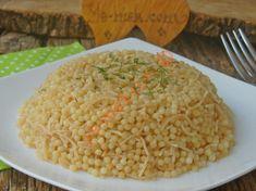 Sebzeli Arpa Şehriye Pilavı Tarifi, Nasıl Yapılır? (Resimli)   Yemek Tarifleri Ham, Risotto, Deserts, Menu, Rice, Cooking, Ethnic Recipes, Food, Yummy Yummy