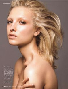 ultimate nude makeup   makeup by Yadim for Vogue Japan