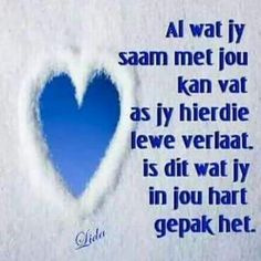 Dit wat jy in jou hart gepak het Favorite Bible Verses, Bible Verses Quotes, Poetic Words, Afrikaanse Quotes, Sweet Words, Inspirational Thoughts, Quotes About God, Daily Quotes, Nice Quotes