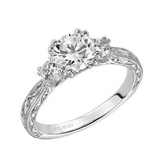 f96bf1cb6 43 Best Three Stone Engagement Rings images | Three stone engagement ...