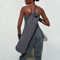 Paula Coles bags are sustainable, one of a kind items made of recycled cotton t-shirts. These bags are designed and woven by Haitian artisans. This lightweight