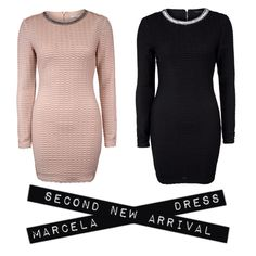 Marcella Dress  Nude and black Always essential in my closet