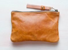 Small leather Pouch. great for organizing little things in my handbag