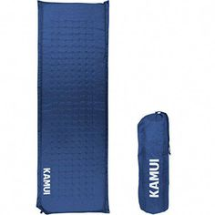 KAMUI Self Inflating Sleeping Pad - 2 Inch Thick Camping Pad Connectable with Multiple Mats for Tent and Family Camping (Blue) Best Tents For Camping, Camping Near Me, Camping Gifts, Camping World, Tent Camping, Camping Hacks, Camping Cabins, Camping Store, Camping Guide