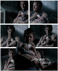 Daryl Dixon & Little Ass Kicker, The Walking Dead, S3 http://pinterest.com/yankeelisa/the-walking-dead/