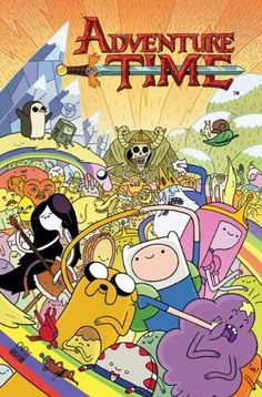 Graphic Novel Review: Adventure Time Vol. 1