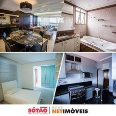 Apartamento no bairro Ouro Preto, 3 quartos, 3 suites, 4 banheiros, 3 vagas e 302m2 de área útil.  #imoveisbh #locacao #sotaonetimoveis www.sotao.com.br