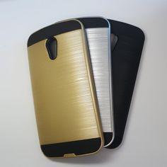 Motorola Moto G2 - Slim Sleek Brush Metal Case - 6.45$