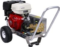 Pressure Pro Pressure Washers.  Made here in Florida and designed to meet the demands of professional contractors.  These machines kick butt!