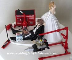 ... Garage & Shop Worthy Cakes on Pinterest  Tool box cake, Groom cake