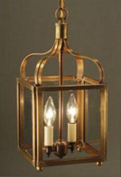 Crown Lantern - 6712-AB-LT2-CLR Stairwell possibility