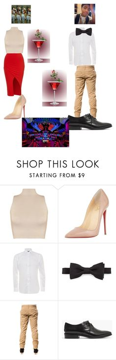"""""""tonight going out wid my boo"""" by candyyumyum5 ❤ liked on Polyvore featuring WearAll, Christian Louboutin, Ralph Lauren, Burberry, Elwood and Madewell"""