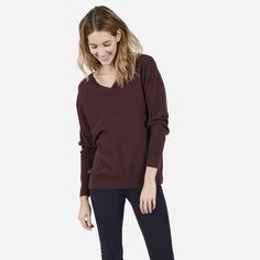 The Cashmere V-Neck - Everlane - several colors available
