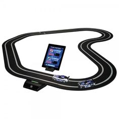 Competitive racers and hobbyists, rejoice! Mimic real-life racing with slot cars like you've never seen before. And when you're done creating any race course you can imagine, it takes a few taps on a smartphone screen to share your victories to Facebook and Twitter. Now go ahead and earn those bragging rights. Shop at SkyMall.com!