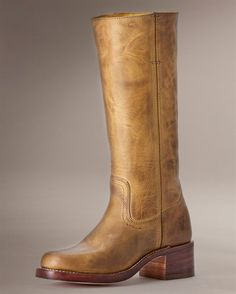 I have a pair of vintage Fryes...  Classic.  http://www.thefryecompany.com/womens-boots/view-all/77050/campus-14l