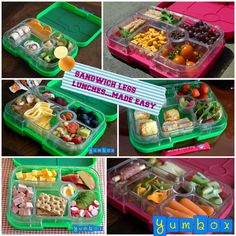 Sandwich FREE lunches made EASY with Yumbox