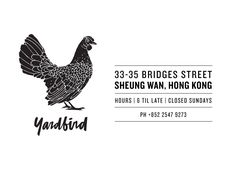 Yardbird. Most New Yorkey resto in HK. Great atmosphere. Solid food, but a lot of Chicken.