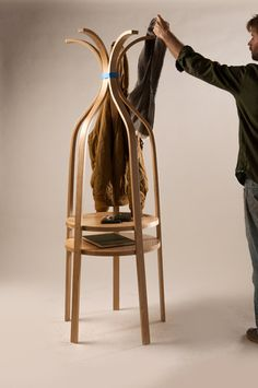 Coatrack from Plywood Office