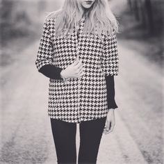 @ladies_universe design this #vintage pied de puole jacket for your fresh style. Ladies come on and take a look at NOHOWSTYLE.COM