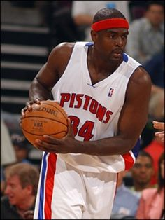 Chris Webber - Detroit Pistons (2007-2008)