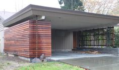 modern enclosures for carport - Google Search