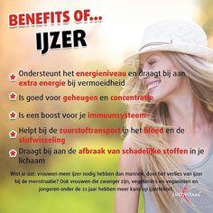 Gezondheidsvoordelen van mineral ijzer  #lucovitaal #benefits #ijzer #mineralen #vitamines #gezondheid #gezond #voeding #voedingssupplementen #fit #healthy