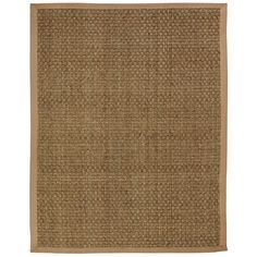 New Moray Seagrass Anji Mountain 5 ft. x 8 ft. MORAY Natural Seagrass Basketweave Rug with Khaki border sold by Natural Fiber Rugs, Natural Area Rugs, Natural Rug, Natural Colors, Bamboo Rug, Seagrass Rug, Tan Rug, Indoor Outdoor Rugs, Throw Rugs