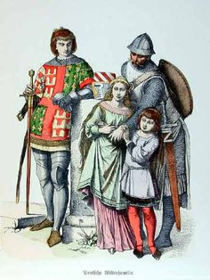 Knighthood and its clothing played an important role in fashion during the crusades