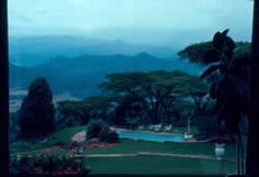 Another view from Eggardon Hill in the Vumba Mountains of Rhodesia, 1976