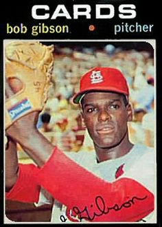 1971 Topps Bob Gibson card that never was.