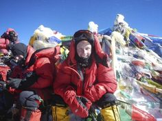 Michigan Professor Scott DeRue on Mount Everest