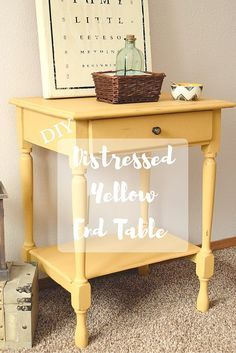 DIY this look! Annie Sloan's 'Arles' and distressed. | Timeless Creations, LLC