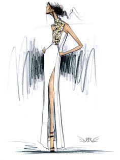 #RachelRoyF13 #Fashion #Sketch #NYFW