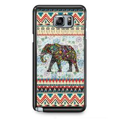 Aztec Elephant Vintage Floral TATUM-1259 Samsung Phonecase Cover Samsung Galaxy Note 2 Note 3 Note 4 Note 5 Note Edge