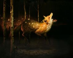 Paintings of Animals by Martin Wittfooth - Art People Gallery