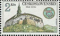 Bélyeg: Nitra castle (Csehszlovákia) (Kincsek Csehszlovákia váraiban és kastélyaiban) Mi:CS 2673,Sn:CS 2417,Yt:CS 2493,AFA:CS 2518,POF:CS 2547