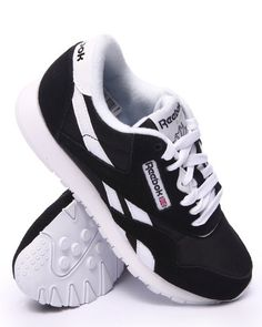 Reebok - Classic Nylon Sneakers Jay Shoes, Shoes Sneakers, White Reebok,  Best Running 095c73084ba8