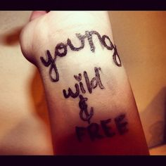 cute free girl henna tattoo wild young young wild free Young Wild Free, Wild And Free, Cute Henna Tattoos, Young Young, Free Girl, Tattoo Quotes, Inspiration Tattoos, Quote Tattoos
