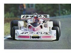 Kunimitsu Takahash (Tyrrell-Ford) Grand Prix du Japon - Circuit du Mont Fuji 1977 - sport-auto décembre 1977.