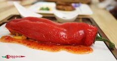 Peppers Restaurant, Menu Restaurant, Stuffed Peppers, Dishes, Vegetables, Ethnic Recipes, Food, Stuffed Pepper, Tablewares