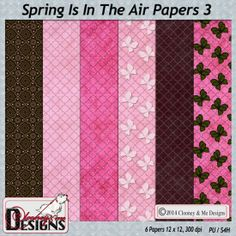 Spring Is In The Air Papers 3